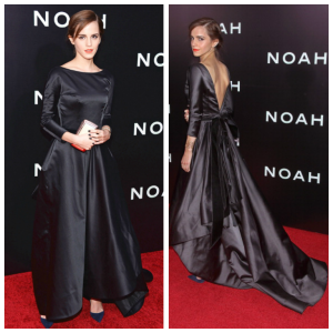 Emma Watson in Oscar de la Renta at the 'Noah' Premiere in New York – March 2014